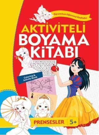 Aktiviteli Boyama Kitabı; Prensesler