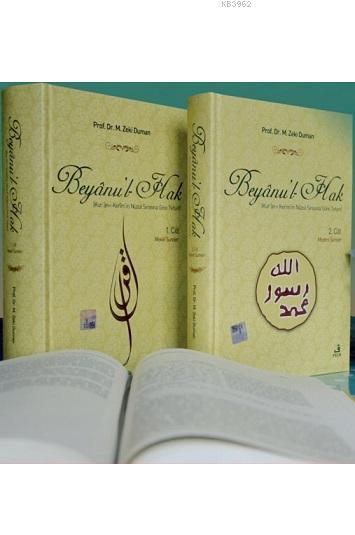 Beyanu'l-Hak (2 Cilt); Kur'an-ı Kerim'in Nüzul Sırasına Göre Tefsiri