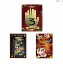 Disney - Esrarengiz Kasaba En Favori Kitaplar Seti 3 Kit
