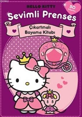 Hello Kitty Sevimli Prenses Çıkartmalı Boyama Kitabı