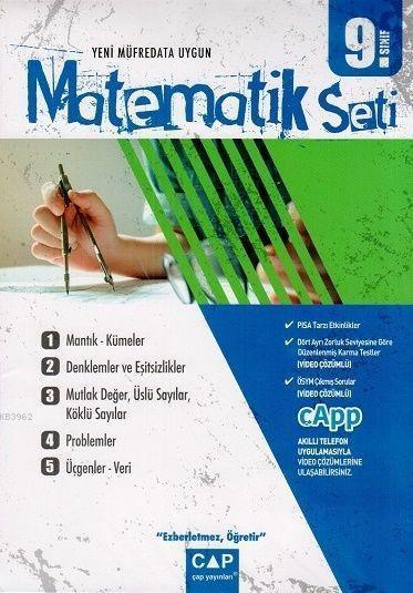 Çap Yayınları 9. Sınıf Anadolu Lisesi Matematik Seti Çap
