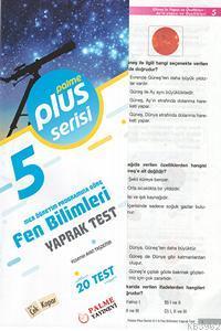 5.Sınıf Plus Serisi Fen Bilimleri Yaprak Test