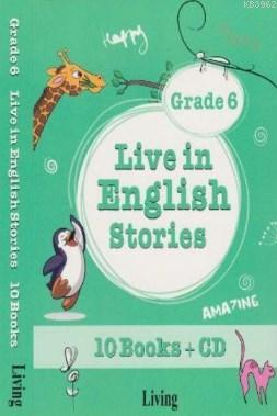 Live in English Stories Grade 6 - 10 Books-CD