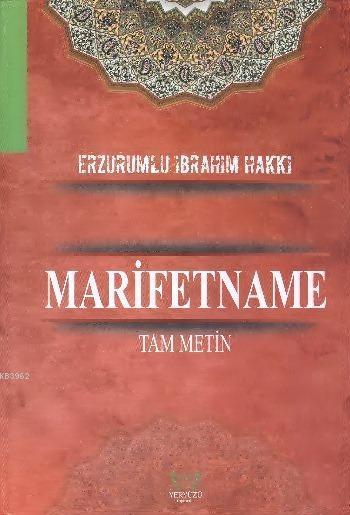 Marifetname (Ciltli); Tam Metin - (Ciltli - Şamua - Büyük Boy)
