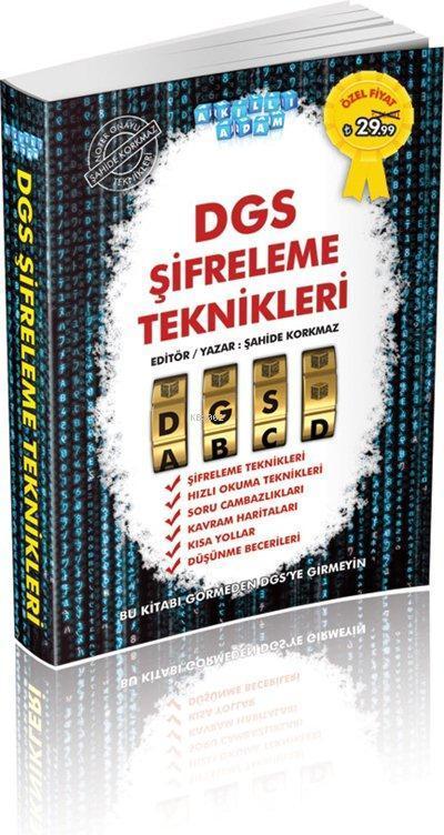 DGS Şifreleme Teknikleri; 2015