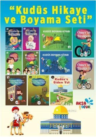 Çocuklar İçin Kudüs Hikaye ve Boyama Seti 11. Kitap