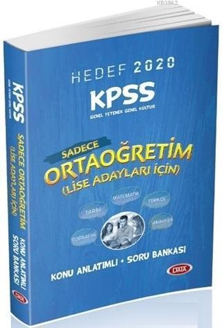 KPSS Ortaöğretim (LİSE) Adaylar İçin Konu Anlatımlı Soru Bankası