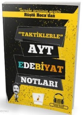 Rüştü Hoca'dan Taktiklerle AYT Edebiyat Notları