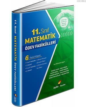 Aydın - 11. Sınıf Matematik Ödev Fasikülleri