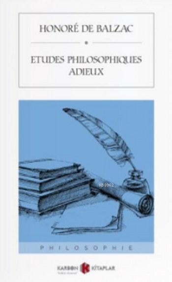 Etudes Philosophiques Adieux