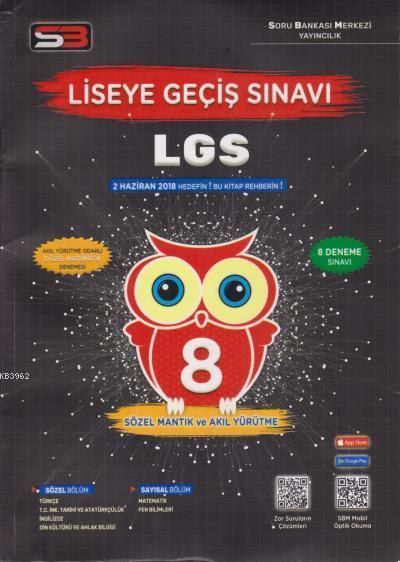 8. Sınıf LGS Deneme Sınavı