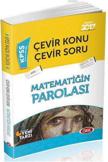 KPSS Çevir Konu Çevir Soru Matematiğin Parolası 2017