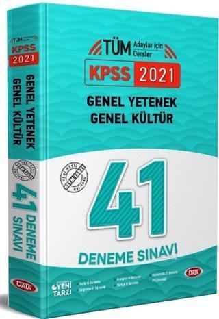 2021 KPSS Genel Yetenek - Genel Kültür 41 Deneme Sınavı
