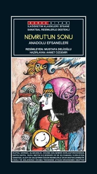 Sanatsal Resimli  Nemrut'un Sonu; Anadolu Efsaneleri