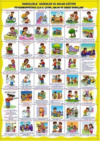 Hadislerle Değerler ve Ahlak Eğitimi (Poster)