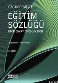 Eğitim Sözlüğü