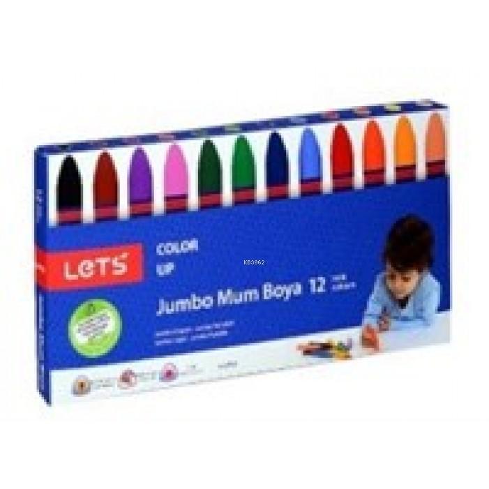 Lets Jumbo Mum Boya 12 Renk
