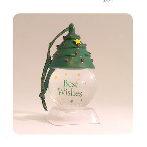 H&H Asklılı Kar Küresi Best Wishes 009