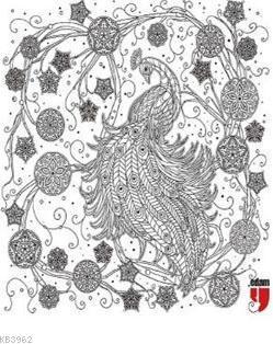 Nuh'un Gemisi Tablo Boyama Serisi 3 - Tavus Kuşu