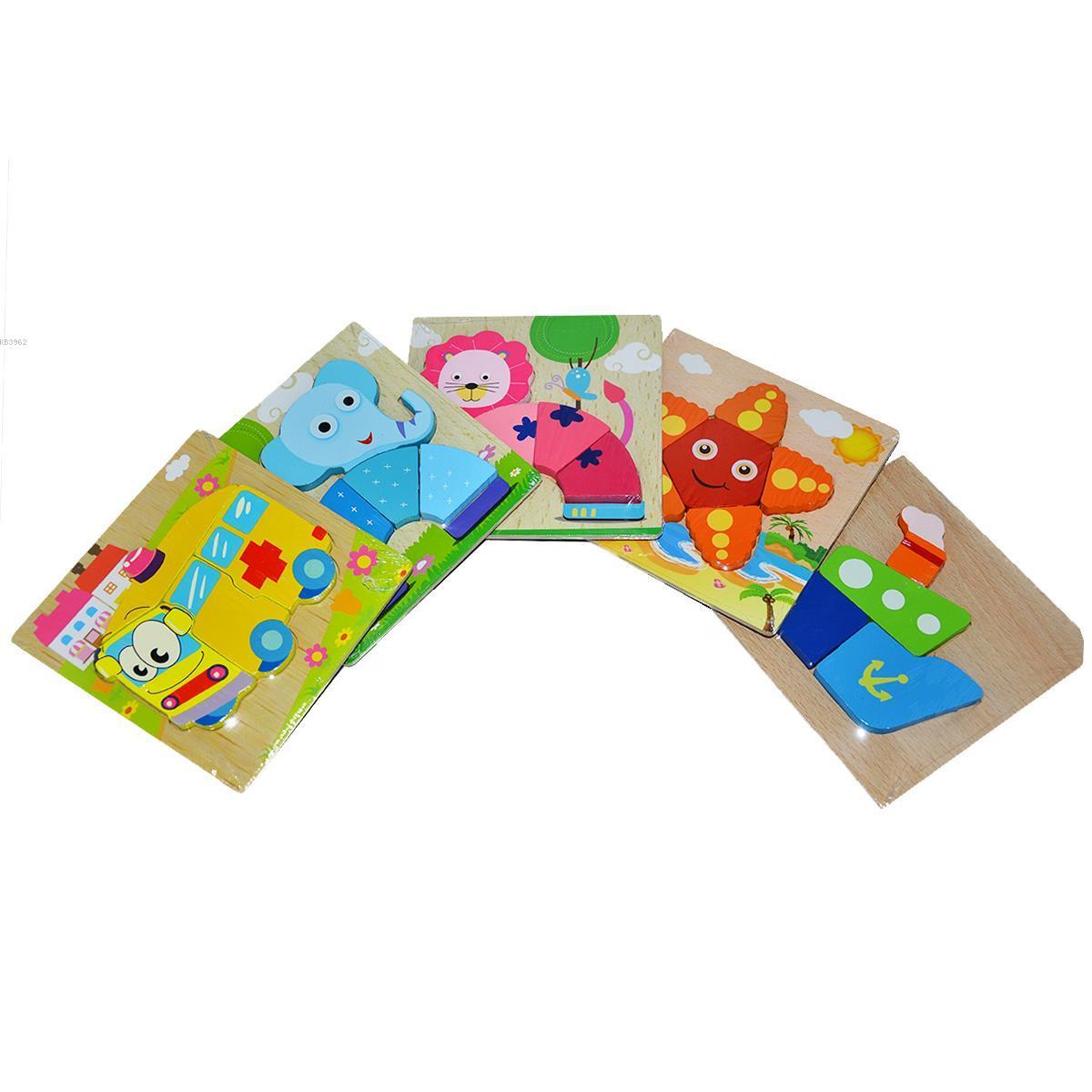 Bircan TT1433 Ahşap Mini Puzzle