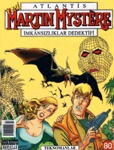 Martin Mystere Sayı: 80 - İmkansızlıklar Dedektifi