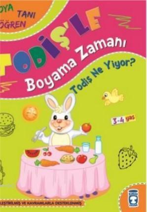 Todiş Ne Yiyor?; Todişle Boyama Zamanı