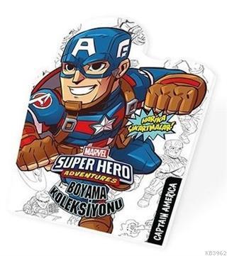 Captan America - Marvel Süper Kahramanlar Boyama Koleksiyonu