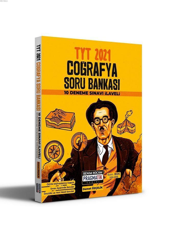 2021 TYT Coğrafya Soru Bankası Benim Hocam Yayınları