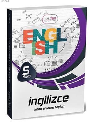 5. Sınıf İngilizce Konu Anlatım Föyleri (32 Föy)