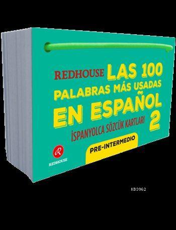 Las 100 Palabras Más Usadas En Español 2; Redhouse İspanyolca Sözcük Kartları