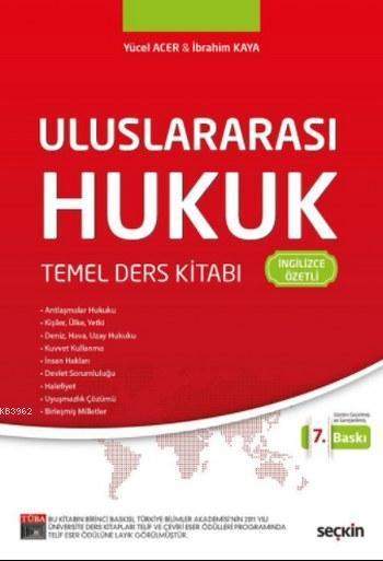 Uluslararası Hukuk Temel Ders Kitabı; İngilizce Özetli