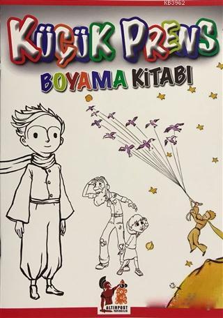 Küçük Prens Boyama Kitabı