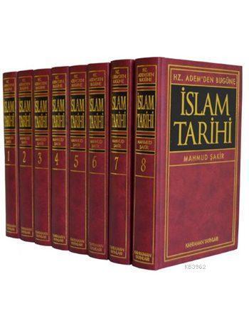 Hz. Adem'den Bugüne İslam Tarihi (8 Cilt, İthal Kağıt, Büyük Boy)