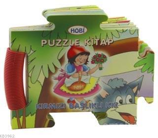 Puzzle Kitap - Kırmızı Başlıklı Kız