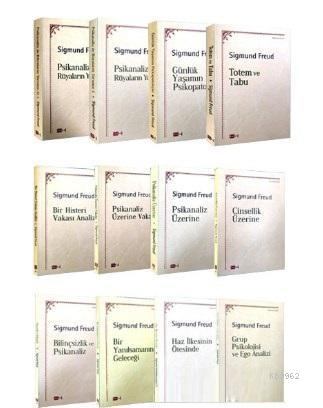 Sigmund Freud Seti 12 Kitap