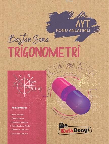 Kafa Dengi Yayınları AYT Trigonometri Baştan Sona Konu Anlatımlı Kafa Dengi