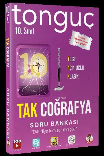 Tonguç Yayınları 10. Sınıf TAK Coğrafya Soru Bankası Tonguç Akademi