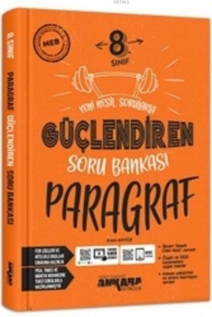 Ankara Yayıncılık 8.Sınıf Güçlendiren Paragraf Soru Bankası (2021)