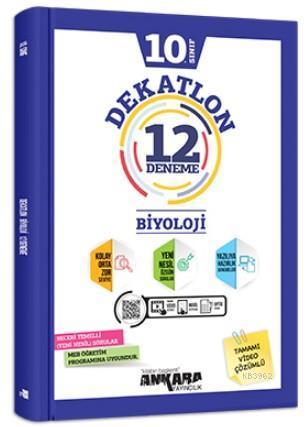10.Sınıf Biyoloji Dekatlon 12 Deneme