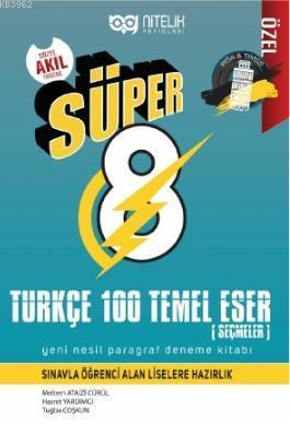 Süper Türkçe 100 Temel Eser Paragraf Deneme Kitabı