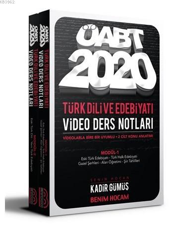 2020 KPSS ÖABT Türk Dili ve Edebiyatı Öğretmenliği Modüler Video Ders Notları Seti Benim Hocam Yayın