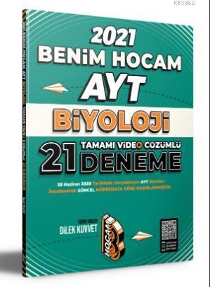 2021 AYT Biyoloji Tamamı Video Çözümlü 21 Deneme Sınavı