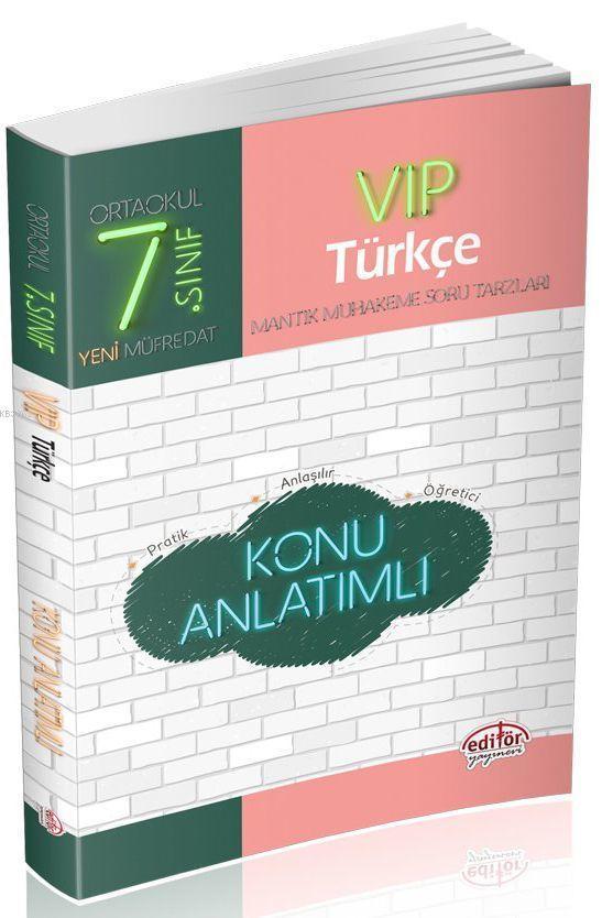 7. Sınıf VIP Türkçe Konu Anlatımlı
