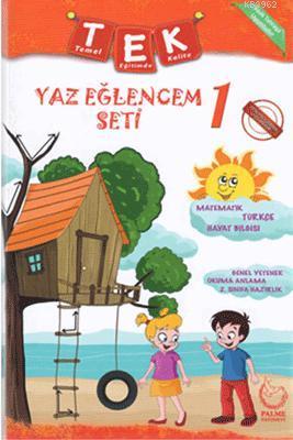 Palme Yayınları 1. Sınıf Tek Yaz Eğlencem Seti Palme