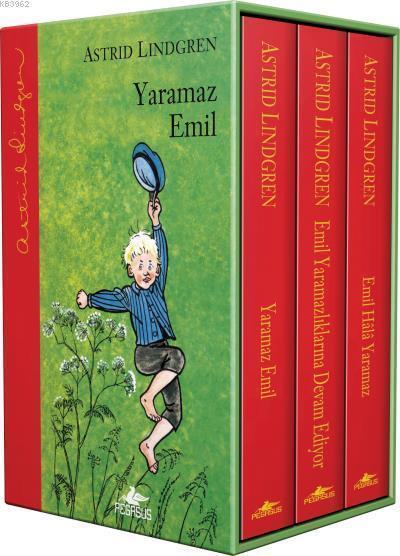 Yaramaz Emil Serisi Ciltli Kutulu Özel Set 3 Kitap