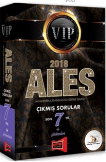 2018 ALES VIP Son 7 Yıl Çıkmış Sorular ve Çözümleri