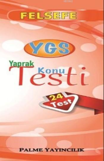 YGS Felsefe Yaprak Konu Testi (24 Test)
