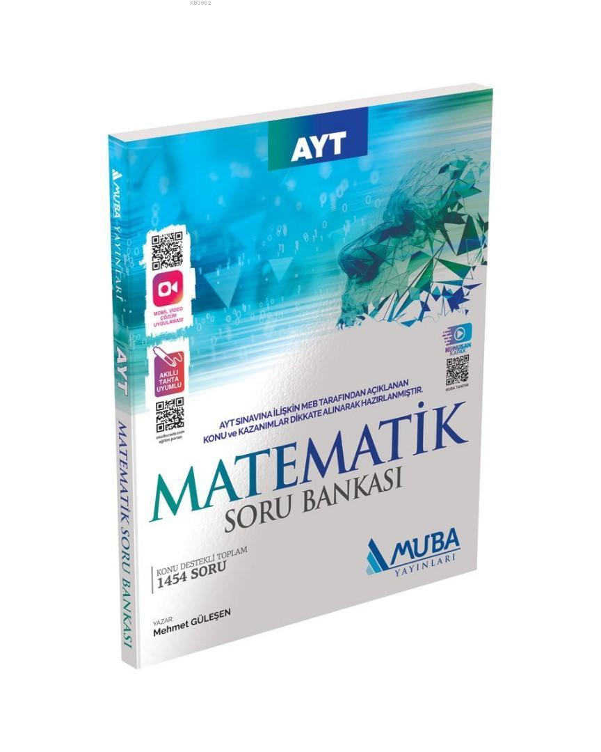 Muba Yayınları AYT Matematik Soru Bankası Muba