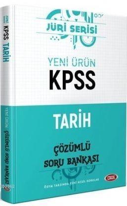 Data Yayınları KPSS Tarih Jüri Serisi Soru Bankası