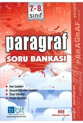 7-8. Sınıf Paragraf Soru Bankası